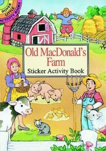 Old Macdonald's Farm Sticker Activity By Cathy Beylon
