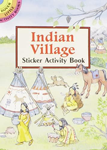 Indian Village Sticker Activity Book By Cathy Beylon