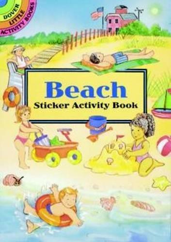 Beach Sticker Activity Book By Cathy Beylon