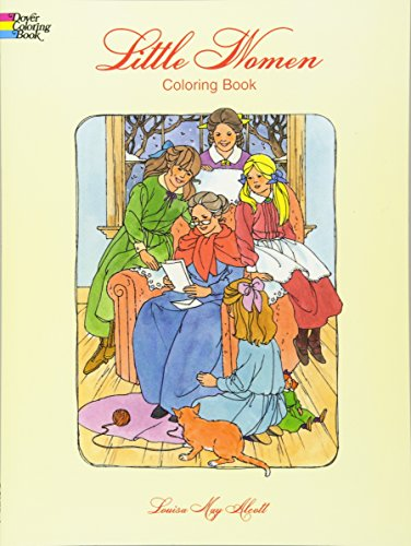 Little Women Coloring Book By Louisa May Alcott