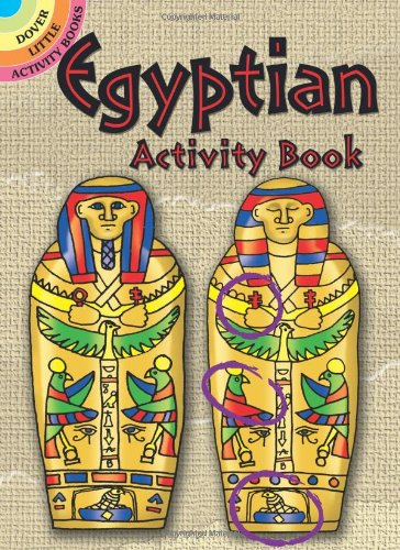 Egyptian Activity Book By W. Adam