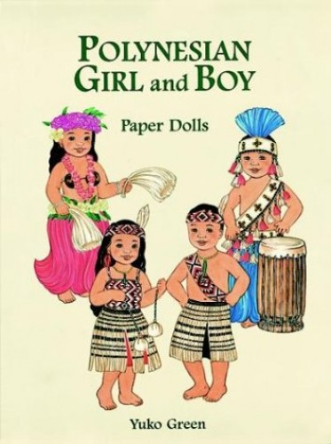 Polynesian Girl and Boy Paper Dolls By Yuko Green