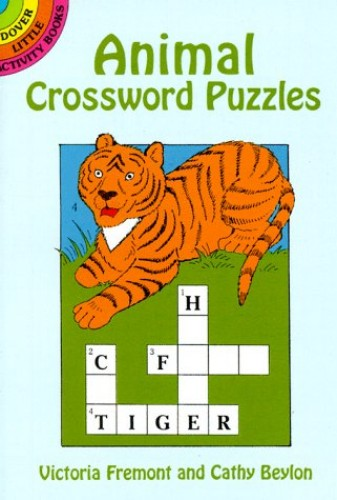 Animal Crossword Puzzles By Victoria Fremont