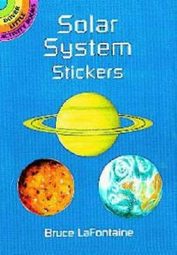 Solar System Stickers By Lafontaine