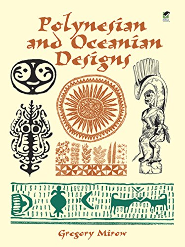 Polynesian and Oceanian Designs CD-Rom and Book By Gregory Mirow