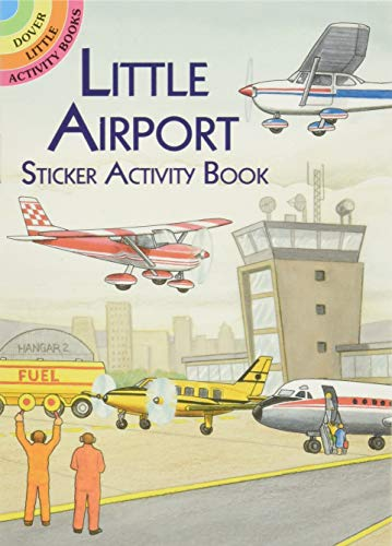 Little Airport Sticker Activity Book By A. G. Smith
