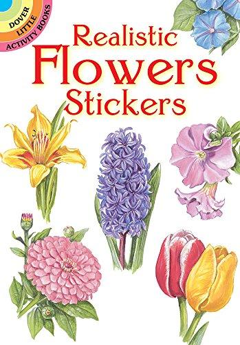 Realistic Flowers Stickers By Dot Barlowe