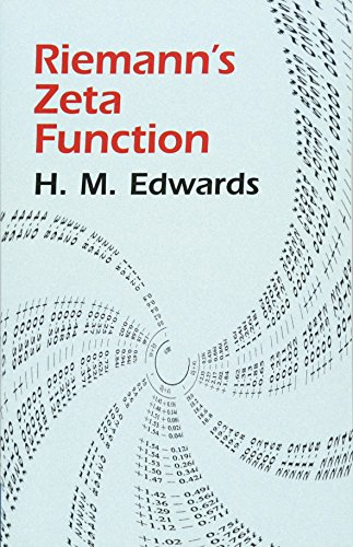 Riemann's Zeta Function (Dover Books on Mathematics) By H M. Edwards