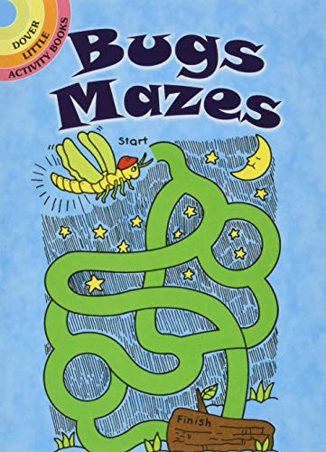 Bugs Mazes By Fran Newman-D'Amico