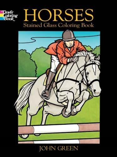 Horses Stained Glass By John Green