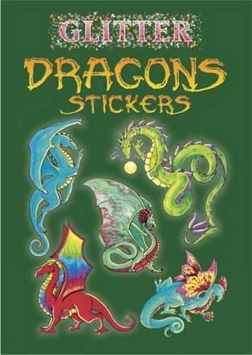 Glitter Dragons Stickers By Christy Shaffer