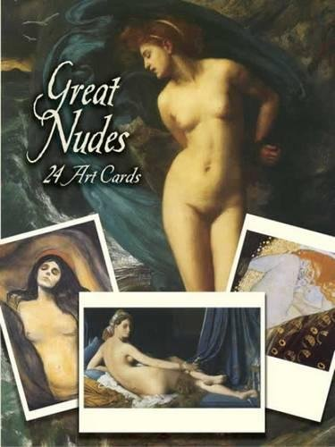 Great Nudes: 24 Art Cards By Jeff A. Menges