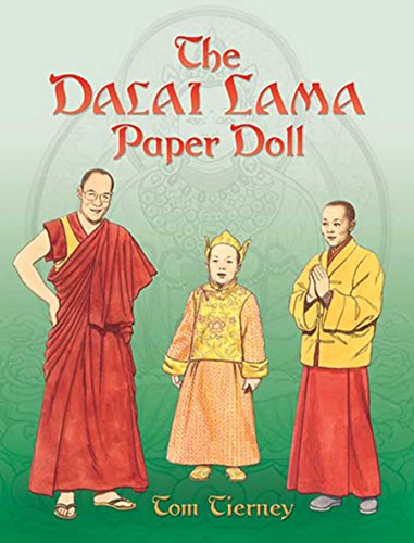 The Dalai Lama Paper Doll By Tom Tierney