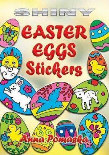 Shiny Easter Eggs Stickers By Anna Pomaska