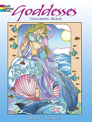 Goddesses Coloring Book von Marty Noble