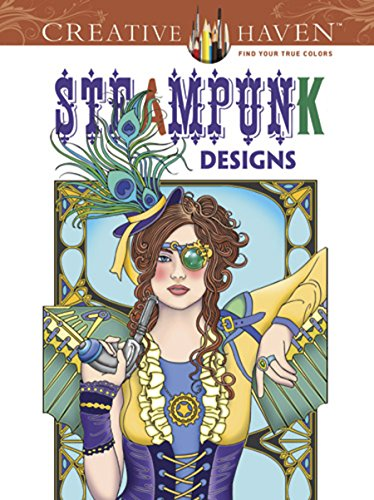 Steampunk Coloring Book By Marty Noble