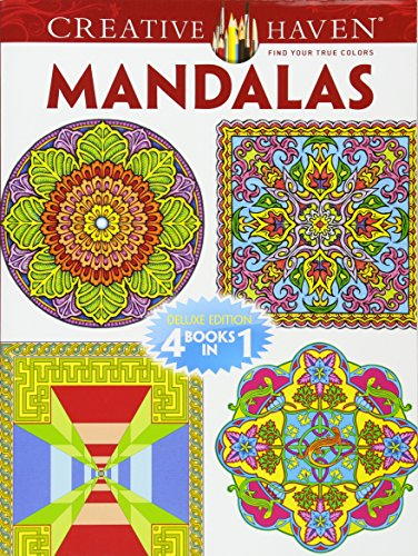 Creative Haven MANDALAS Coloring Book By Marty Noble