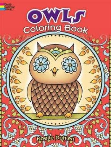 Owls Coloring Book By Noelle Dahlen
