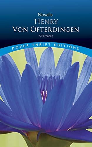 Henry Von Ofterdingen By Novalis