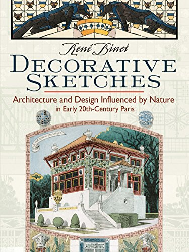 Decorative Sketches By Rene Binet