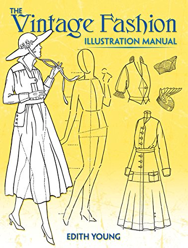 The Vintage Fashion Illustration Manual By Edith Young