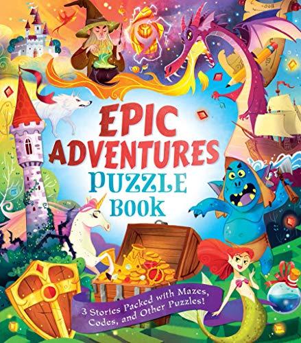 Epic Adventures Puzzle Book By Dr Gareth Moore