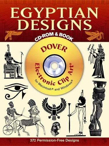 Egyptian Designs By Dover publications