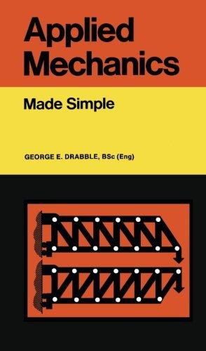 Applied Mechanics By George E. Drabble
