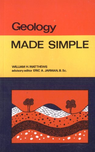 Geology (Made Simple Books) By William Henry Matthews