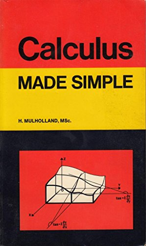 Calculus By H. Mulholland
