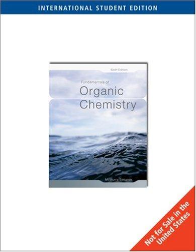 Fundamentals of Organic Chemistry By John E. McMurry