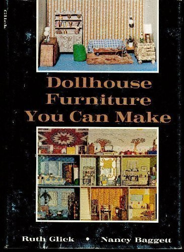 Doll-house Furniture You Can Make By Ruth Glick