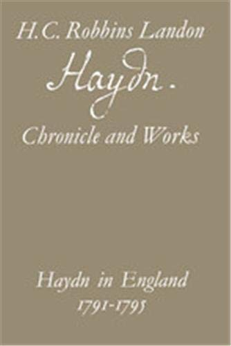 Haydn: Chronicle and Works By H.C.Robbins Landon