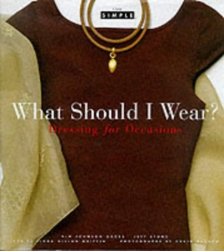 Chic Simple: What Should I Wear? Dres By K Gross