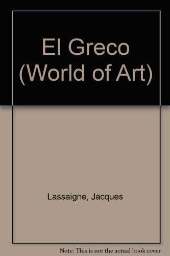 El Greco By Jacques Lassaigne