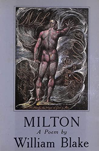 Milton By William Blake