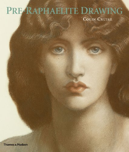 Pre-Raphaelite Drawing By Colin Cruise