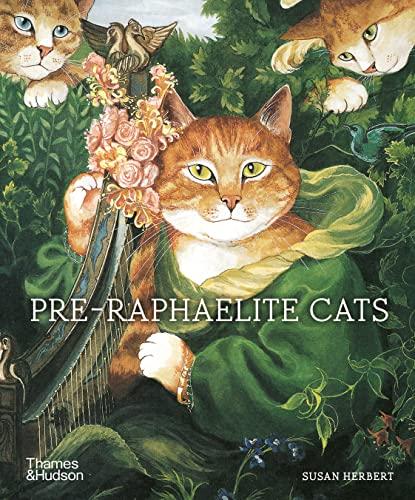 Pre-Raphaelite Cats By Susan Herbert