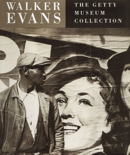 Walker Evans:The Getty Museum Collection By Judith Keller