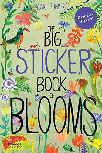 The Big Sticker Book of Blooms By Yuval Zommer