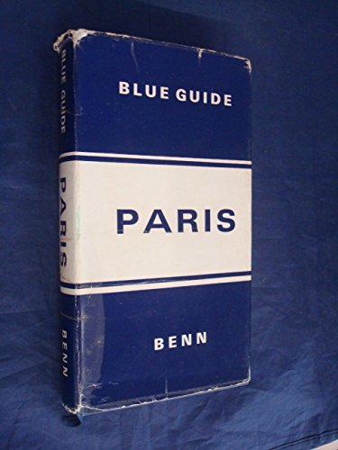 Paris (Blue Guides) Hardback Book The Cheap Fast Free Post