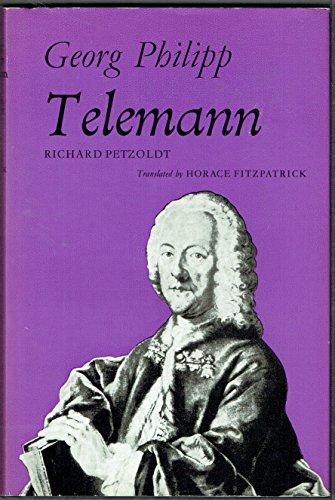 Georg Philipp Telemann By Richard Petzoldt