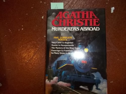 Agatha Christie Murders Abroad By Christie