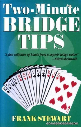Two-Minute Bridge Tips By Frank Stewart