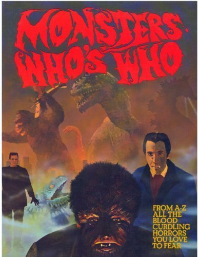 Monster's Who's Who By Dulan (1940-1988) Barber