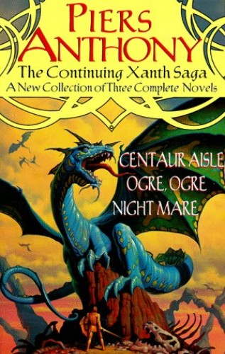 Continuing Xanth Saga by Piers Anthony