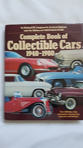 Complete Book of Collectible Cars By Outlet