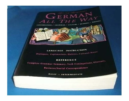 Liv Lang German All the Way (Manual By Living Language