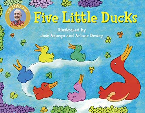 Five Little Ducks Board Book By Raffi