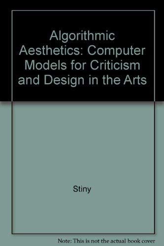 Algorithmic Aesthetics By George Stiny